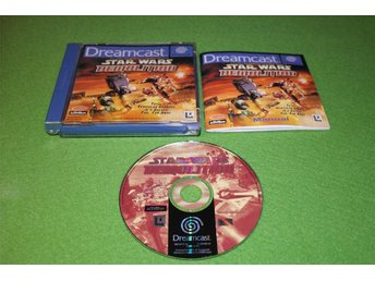 Dreamcast Star Wars Demolition KOMPLETT Sega Dreamcast