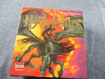 HARRY POTTER OCH & FENIXORDEN / 29 CD / LJUDBOK / SV TAL!