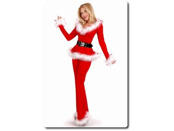 Punk Santa Off Shoulder Top and Pants strl.38/40
