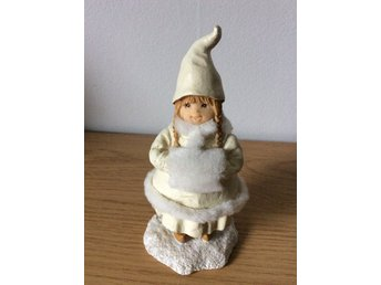 Tomteflicka Jul Advent Tomte Retro Vintage Pyssel