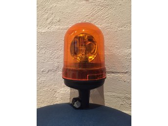 Rotorljus orange 24v