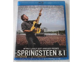 Springsteen & I (Blu-ray) --NYTT--
