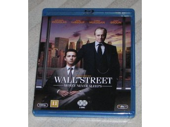 Wall Street Money Never Sleeps - Svensk Text (Blu Ray) Bluray - 2-Disc