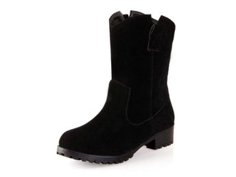 Dam Boots Mid Calf Boots Brand Footwear Shoes Black 36