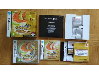 Nintendo DS: Pokemon Heart Gold HeartGold Big Box Pokewalker
