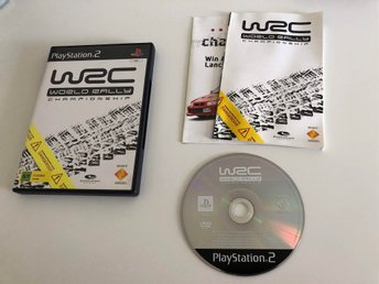 PS2 / Playstation 2-spel - WRC: World Rally Championship , Komplett , PAL