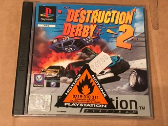 Destruction Derby 2 till Playstation