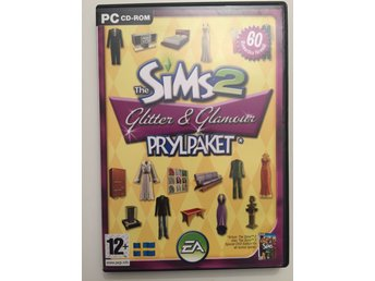 THE SIMS2 GLITTER & GLAMOUR PRYLPAKET PC CD-ROM