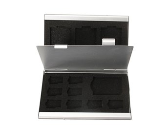 Aluminum Storage Box Protecter Case for Micro SD MMC TF M...