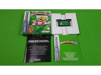 Wario Land 4 KOMPLETT Gameboy Advance Nintendo GBA warioland