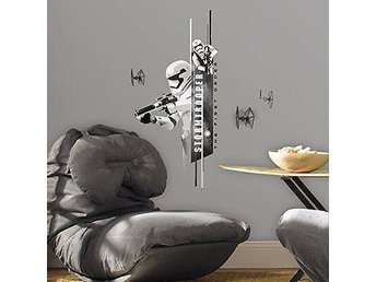 Star Wars EP VII Storm Troopers 8-Piece Peel and Stick Wall