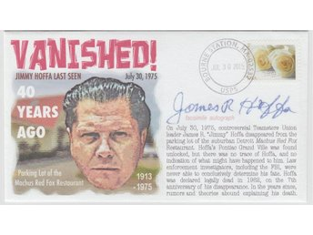 40th Anniversary of the Disappearance of Jimmy Hoffa Event Cover Teamsters' Boss
