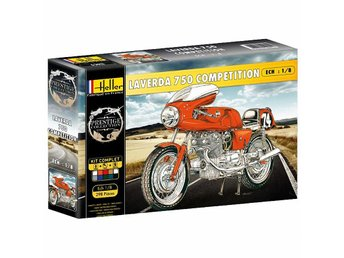 Heller 1/8 Laverda 750 SFC Motorbike - Skoghall - Heller 1/8 Laverda 750 SFC Motorbike - Skoghall