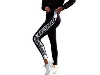 Women Black Skinny Leggings L - Boras - Women Black Skinny Leggings L - Boras