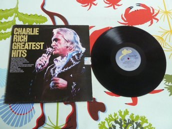 CHARLIE RICH GREATEST HITS, EVERY TIME YOU TOUCH ME.., LP, LP-SKIVA