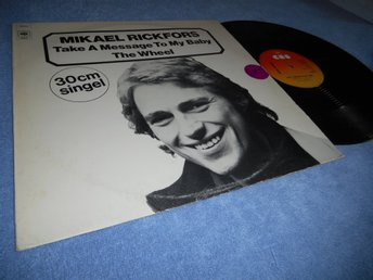 Mikael Rickfors - Take a Message To My Baby (12a) 1976 tidig maxi!