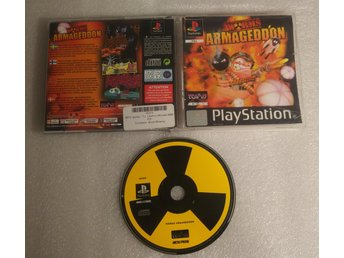 Worms Armageddon Till Playstation! 1kr