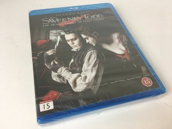 Blu-ray - Sweeney Todd - Thriller - 2007 - svensk undertext