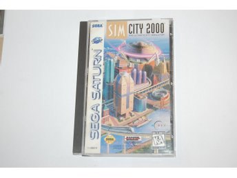 Simcity 2000 / Sim City 2000 - Komplett - USA - Sega Saturn