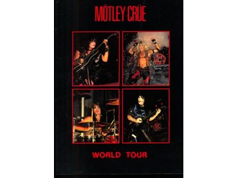MÖTLEY CRUE WORLD TOUR