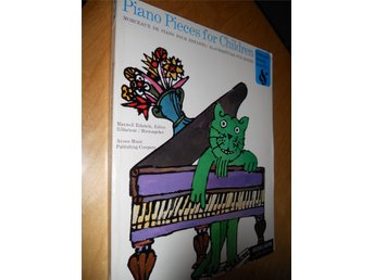 Piano pieces for children fr 60-talet