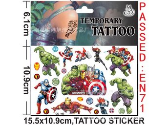 The Avengers Tattoo