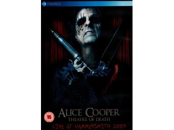 Cooper Alice: Theatre of death/Live at Hammersm. (DVD)