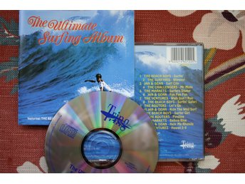 CD, Surfin', Beach Boys, Ventures, Jan & Dean, Surfaris, 1960's