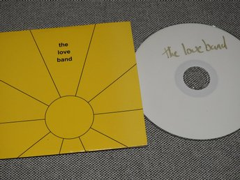 The Love Band - We are the Love Band CDr (Pappfodral)