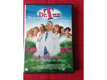 Dr.T and the Woman! Med bland annat Richard Gere.Bra DVD.Film, Svensk Text.