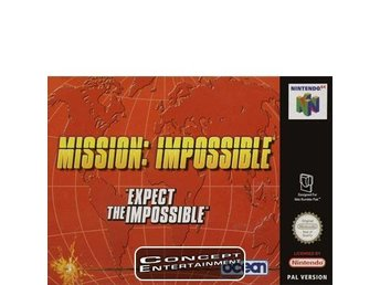 MISSION IMPOSSIBLE till Nintendo 64, N64