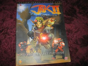 JAK II RENEGADE THE COMPLETE OFFICIAL GUIDE (PLAYSTATION 2) NY OANVÄND