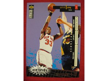 PATRICK EWING  -  YOU CRASH THE GAME UD CC 1996 - BASKET