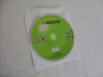 IDG CD XPRESS CDX 2  Mac & PC CD ROM skiva