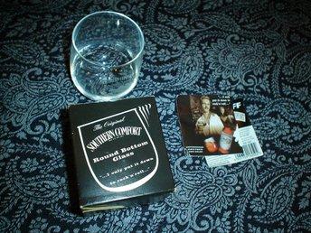 Whisky glas Southern comfort samlarobjekt, rund botten, Orginalförpackning - Eskilstuna - Whisky glas Southern comfort samlarobjekt, rund botten, Orginalförpackning - Eskilstuna