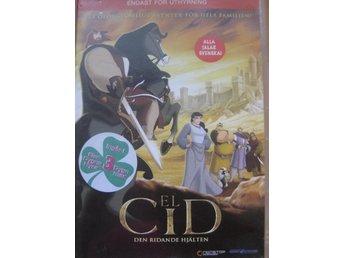 DVD film barn filmer - El Cid - Svenskt tal - Uddevalla - DVD film barn filmer - El Cid - Svenskt tal - Uddevalla