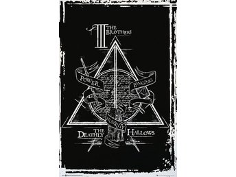 Poster (61x91 cm) - Harry Potter - Deathly Hallows Graphic (FP4191)