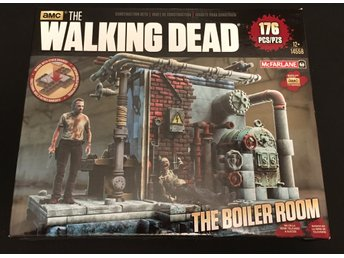Walikng Dead Construction Set - The Boiler Room