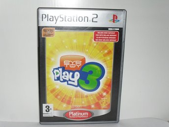 Sony playstation 2 ps2 spel Eyetoy play 3