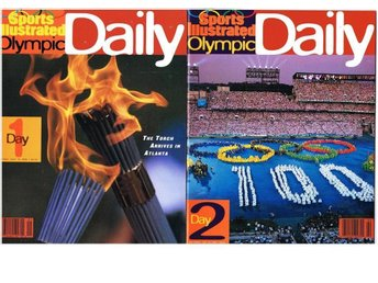 ATLANTA 1996 Sports Illustrated Olympic Daily Day 1-18 kompl