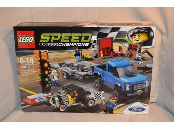 Ford F-150 Raptor & Ford Hot Rod (Racing) Lego 75875 Speed champions Ny