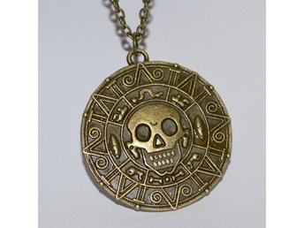 Aztec Mynt Brons Halsband Pirates of the Caribbean (Smycke) Ny