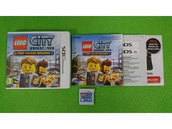 Lego City Undercover The Chase Begins SVENSK KOMPLETT Nintendo 3DS