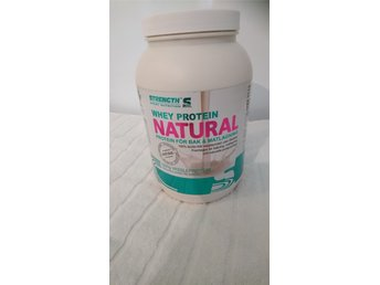 Whey Protein Natural STRENGTH's Naturellt utan tillsatser (lecitinfritt) 1 kg