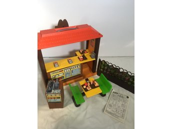 vintage Barbie loves McDonald's playset restaurang 1980s 1983