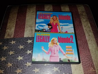 Legally blonde och Legally blonde 2 Reese Witherspoon