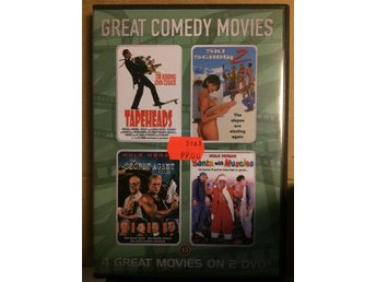 DVD-film: Great Comedy Movies - 4 filmer.