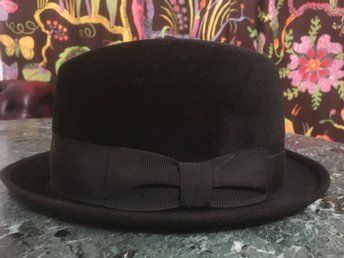 Vintage Preston London Superior Quality Hatt 7 1/4 58cm 40-tal
