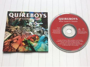 "Quireboys CD "" bitter sweet & twisted """