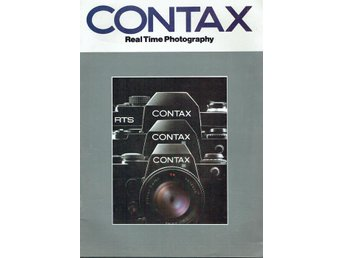 Contax - Real Time Photography (På engelska)